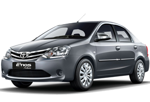The sedan taxi is also available on rent in amritsar